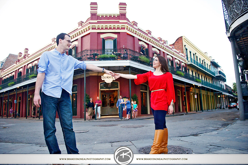 French Quarter Engagement